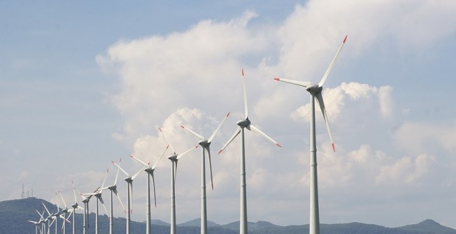 Electrical Wind Farms in Aley